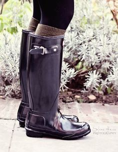 Hunter boots - socks and tights