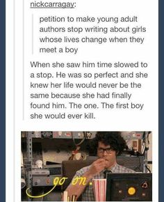 That would be an awesome book! The funny thing. ive actually wrote stories more similiar to the end of that sentence LOL. Make love reality not fantasy haha ; Funny Quotes, Funny Memes, Hilarious, Writing A Book, Writing Tips, Writing Humor, Picture Writing Prompts, Haha, Fandoms
