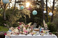 #HighTea #GardenParty #Vintage Hilary Cam Photography