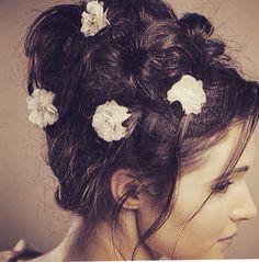 Soft hair up By Julie Mcguire Soft Hair, Up Hairstyles, Earrings, Fashion, Fluffy Hair, Ear Rings, Moda, Hairdos, Stud Earrings