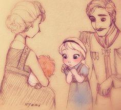Nyamo does some of my favorite Frozen fan art.