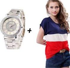 Relógio Feminino De Pulso Original Quartz No Mercado Livre - R$ 28,90 em Mercado Livre