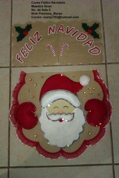 Como hacer juegos de baño navideños en fieltro - Imagui Christmas Humor, Merry Christmas, Christmas Ornaments, Ideas Para, Maya, Quilts, Holiday Decor, Home Decor, Bathroom