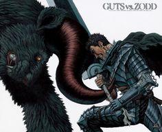 Guts vs. Zodd the Immortal #Berserk