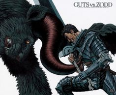 Guts vs. Zodd the Immortal #Berserk