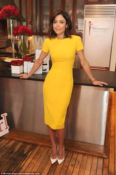 Meat her latest product: Bethenny Frankel was proud as punch as she revealed her latest Skinnygirl offering - luncheon meat - in New York on Tuesday