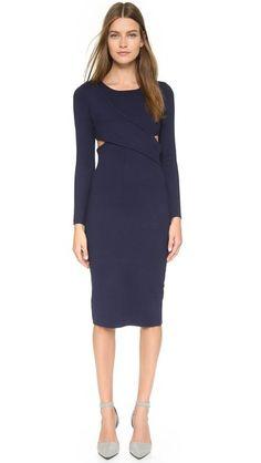 Jonathan Simkhai Crossover Dress