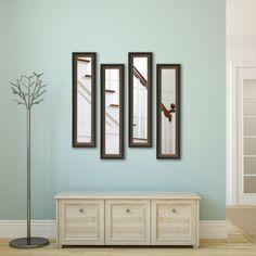 Rayne Mirrors Molly Dawn Traditional Cameo Bronze Wall Mirror