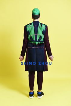 SHIMO ZHOU 2015 A/W Accessories Designer: Une Yea Photographer: Sebastien Böttcher  Models: Alex Fakinos and Oxford Nielsen