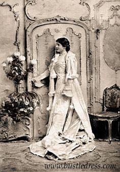 Lillie Langtry Bustle dress