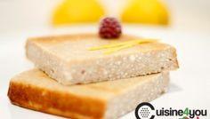 Pastel de queso y limón