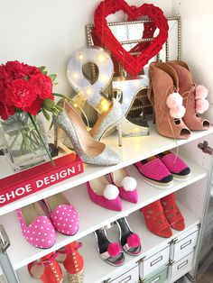 Shoe closet | Shoe organization Shoe Organizer, Shoe Storage, Shoe Closet, Closets, Designer Shoes, Pairs, Organization, Stylish, Shoe Cabinet