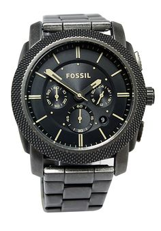 Price:$129.38 #watches Fossil JR1396, Stainless steel case, Stainless steel bracelet, Black dial, Quartz movement, Scratch-resistant mineral, Water resistant up to 5 ATM - 50 meter - 165 feet