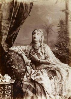 Femme d'Algérie en 1870