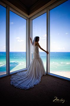 It's Wedding Wednesday! LIKE if you think this bride is glowing in her suite! If you would like your wedding photo at our resort featured, send your image to weddings@trumpmiami.com. For more information about hosting your wedding or special event at Trump Miami, click on the image or call our dedicated catering team, (855) 427-6314.    #Weddings #Wedding #WeddingVenue #MiamiWedding #Brides #Bride #Bridal #Trumpmiami #Miami