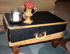 Through My Creative Mind: Suitcase Coffee Table