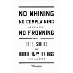 "No Whining Print<br> 11 x 17"" - Hammerpress - GREER Chicago 