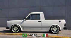 New small cars luxury ideas Vw Mk1, Volkswagen, Fiat 147 Pick Up, 147 Fiat, Best Small Cars, Custom Car Interior, Microcar, Rims For Cars, Mini Trucks