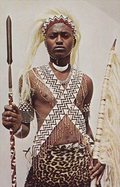 Rwanda Tutsi Warrior
