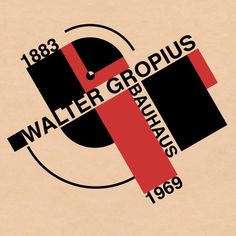Walter Gropius - Founder of #Bauhaus Movement. 1883-1969 © Fabrikken