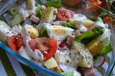 MojaKuchniaMalutka i reszta domu : Sałatka ziemniaczana z sosem czosnkowym