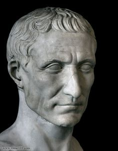 Julius Caesar most notable for his victory and tyranny against the Gauls at the Siege of Alesia and his raid against the Germanic tribes and finally the civil war which would bring about the collapse of the Roman Republic and make him Rome's 1st Emperor.