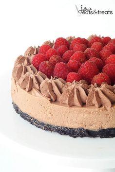 No Bake Raspberry Ch