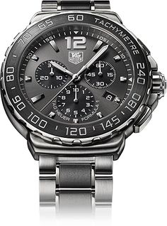 TAG Heuer Formula 1 Steel & Brushed Ceramic