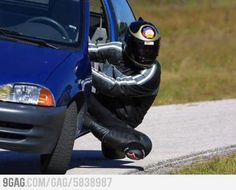 Cornering bike is too mainstream