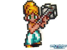 Chrono Trigger RPG Super Nintendo Perler by GeekMythologyCrafts
