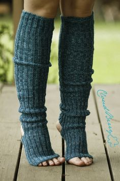 Yoga socks / Leg warmers 2012 by Cloudberry Factory , via Behance