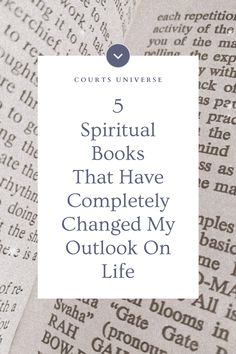 The 5 spiritual books I'm sharing with you are my holy-grail books. These books and authors have shaken my reality to its core, and have completely changed my outlook on life. Spiritual Growth Quotes, Spiritual Wellness, Healing Quotes, Spiritual Practices, Improve Mental Health, Good Mental Health, Centering Prayer, Universe Quotes, Spirituality Books