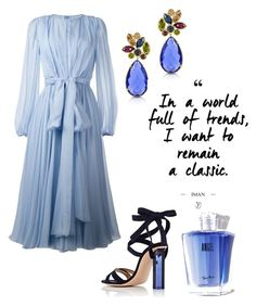 """i want to remain a classic"" by enstilsonmoda on Polyvore featuring moda, Dolce&Gabbana, Gianvito Rossi, Forzieri ve Thierry Mugler"