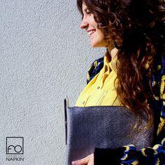 I dettagli raccontano la storia di una donna. #Clip la rende poesia. #NAPKINFOREVER #MadeinItaly