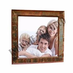 Charming Salvaged Wood Photo Frame, View Salvaged Wood Photo Frame, INDISKIE ART  DECO Product Details