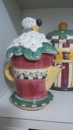 Teapot  Oh Happy Day,Debbie Mumm