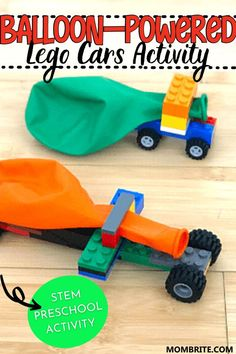 How to Build Balloon-Powered LEGO Cars | Mombrite
