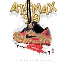 #sneakerart #artist @martymar54