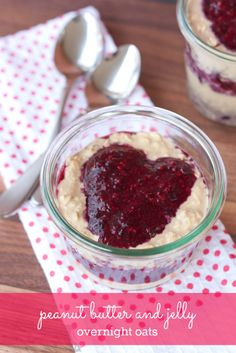 You'll love waking up to these peanut butter and jelly overnight oats with protein-rich peanut flour and chia seed jam.