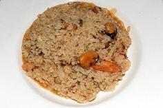 Risotto ai Frutti di Mare -Rezept Reis mit Meeresfrüchten