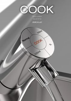 futuristic, Kitchen Faucet, future, gadget, tech, concept, cook, innovation, technology, device, Jae il Bae, water,