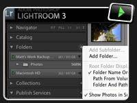 Lightroom Video – Using External Drives