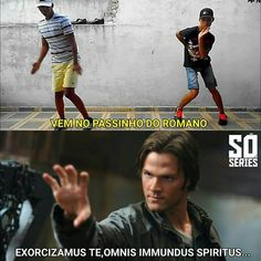 Supernatural Series, Supernatural Funny, Familia Winchester, Pow, Shawn Mendes Memes, Spiritus, Family Show, Angels And Demons, Bad Mood
