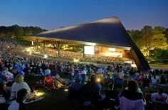 Nothing better than enjoying a concert on the lawn at Blossom Music Center, Cuyahoga Falls, Ohio. Do you remember your first concert there?