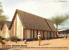 Résultats du concours nka fondation réinventer la maison à base de terre en Afrique | Archicaine