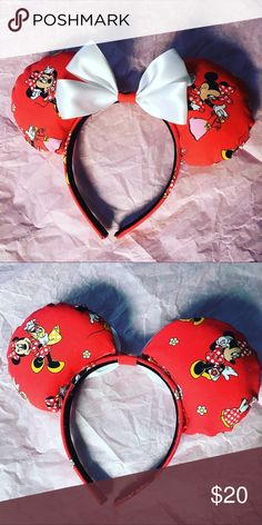 Minnie ears!! Just realized I didn't post these sent they so cute I love these Disney Accessories Hair Accessories