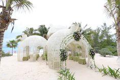 Sueñas con una boda en las #paradisiacas playas del Caribe?? En #SandosCaracol puedes cumplir tu sueño!!