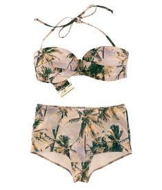 High-waisted bikini from H & M