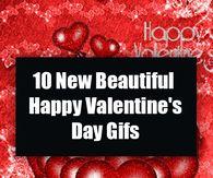 10 New Beautiful Happy Valentine's Day Gifs