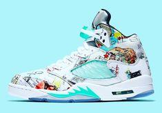 "c763d591d0fb 👟ƝĨƘĕ ꀌĕᗩđƧ👟 on Instagram  ""💪The Air Jordan 5 WINGS Features Artwork  Designed By Chicago Youths.  nikeheads"""